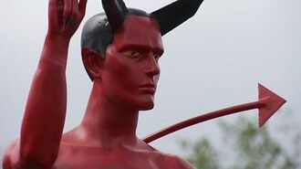 Naked devil statue erected in Vancouver