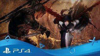 Nioh PSX 2016 Gameplay Trailer PS4