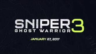 Sniper Ghost Warrior 3 official reveal trailer
