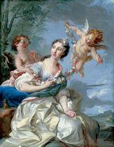 Marie Therese as Venus