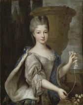 Portrait of Louise Élisabeth de Bourbon (1693-1775), Princess of Conti by Pierre Gobert (1)