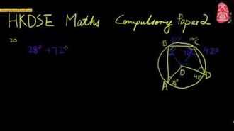 【文宣學社】數學 DSE 2012 Paper2 Q20