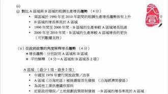 【文宣學社】地理 DSE 2013 Paper1 Q2