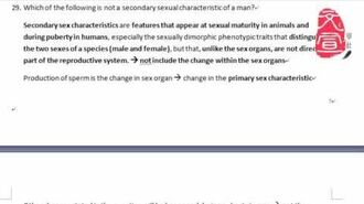 【文宣學社】生物BIO DSE 2012 Paper1 MC Q29