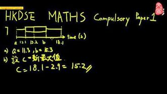 【文宣學社】數學 DSE 2012 Paper1 Q7