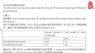【文宣學社】生物 DSE 2013 Paper2 Section B Q1