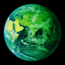 Earth Eastern Hemisphere AKA Earth 2