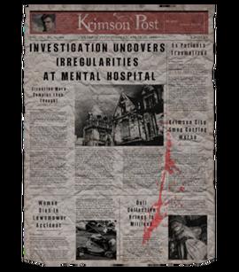 TEW1 Newspaper Irregularities at Hospital