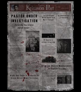 TEW1 Newspaper Church Investigation