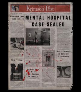 TEW1 Newspaper Hospital Case Sealed