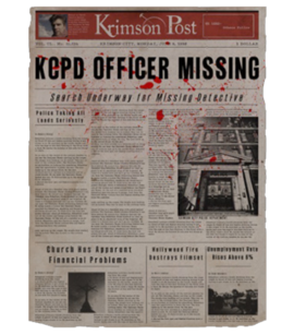 TEW1 Newspaper KCPD Officer Missing