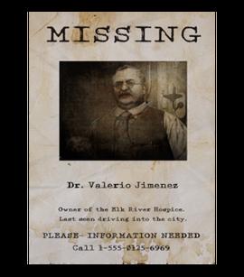 TEW1 MissingPoster Valerio
