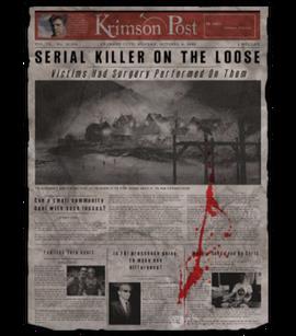 TEW1 Newspaper Serial Killer on the Loose