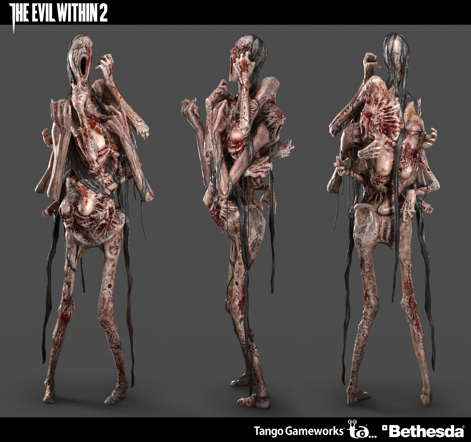The Evil Within 2 Enemies Lasopadive