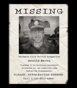 TEW1 MissingPoster Brown