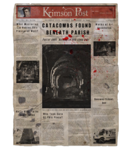 TEW1 Newspaper Catacombs Found
