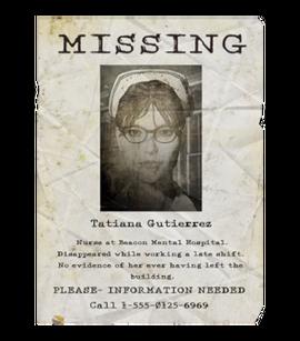 TEW1 MissingPoster Tatiana