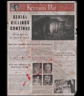 TEW1 Newspaper Serial Killings Continue