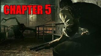 The Evil Within Walkthrough Chapter 5 - Inner Recesses No Damage All Collectibles (PS4)