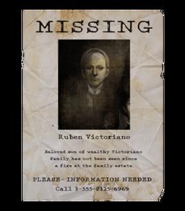 TEW1 MissingPoster Ruben