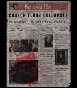 TEW1 Newspaper Church Floor Collapses