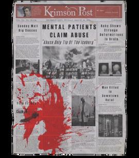 TEW1 Newspaper Patients Claim Abuse