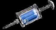 Syringe blue