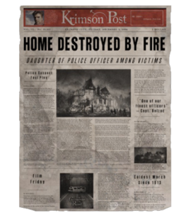 TEW1 Newspaper Home Destroyed By Fire