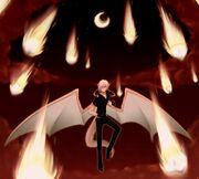 Dragonite drako used draco meteor by dat cat-d4s291o