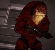 Me wrex by weissidian-d4qeroh
