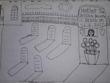 Mother Tia Jessica Becerra is Death on 26.6