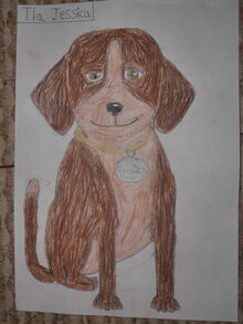 Mother Tia Jessica Becerra is Dogs