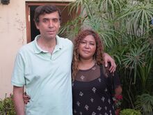 Tio Cesar Becerra and Tia Jessica Becerra