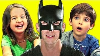 KIDS REACT TO BatDad!