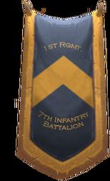 TFR 7th Infantry Battalion Banner