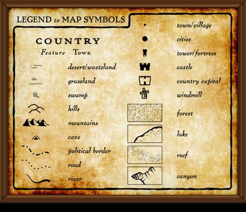 TFR Maps and Symbols