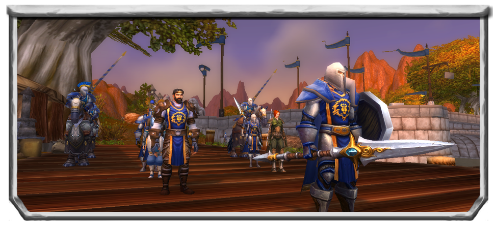 TFR Stormwind Army Manual General Orders Image