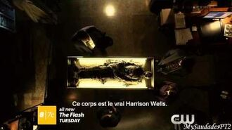 The Flash 1x19 Extended Promo - Who Is Harrison Wells? HD VOSTFR