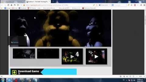 Video - Descargar Five Nights at Freddys 4 Fan Made Para PC Full