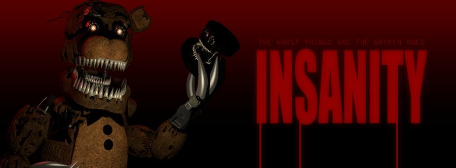 Insanity | The FNAF Fan Game Wikia | FANDOM powered by Wikia