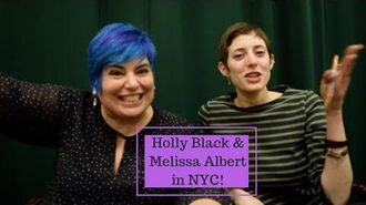 Holly Black & Melissa Albert NYC Signing!