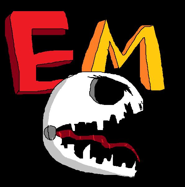 evil museum logo shadowed png