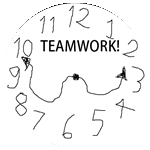 Badge Clockteam