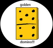 The golden domino