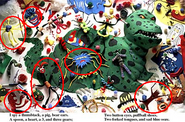 I spy circled