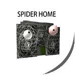 Badge spiderhome