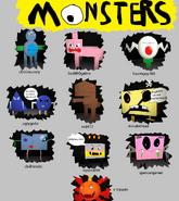 Monster credits