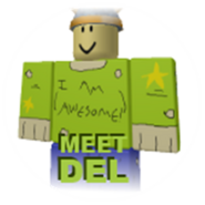 Meet deli badge