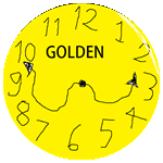 Badge Clockgold
