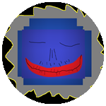 Badge BluePopper